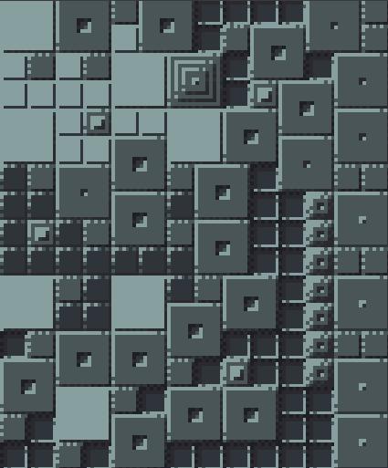 16x16 Tiles with 8x8 Tiles