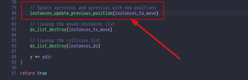 Bug fix for vertical moving platform